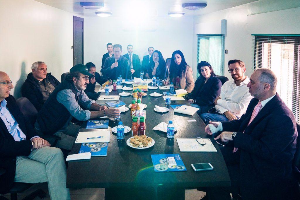 اجتماع ممثلي الجمعية السورية الدولية للاعمال مع ممثلي شركة Chobani