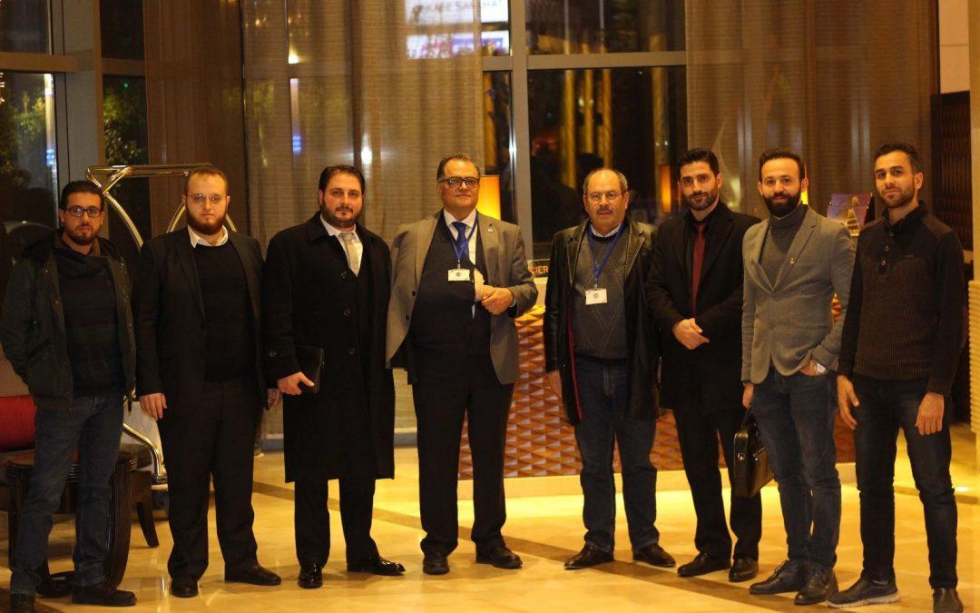 فرع تركيا يعقد اجتماعاً تعارفياً لرجال الأعمال في ولاية بورصة