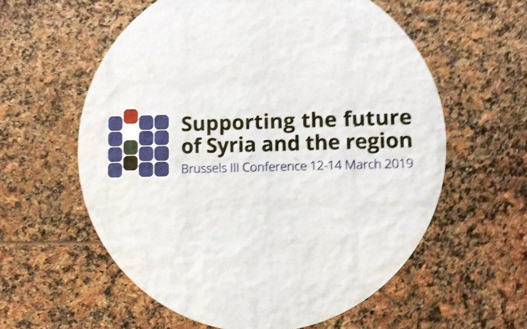 جمعية الأعمال السورية الدولية في فعاليّة Syria Digital Lab 2019 في بروكسل